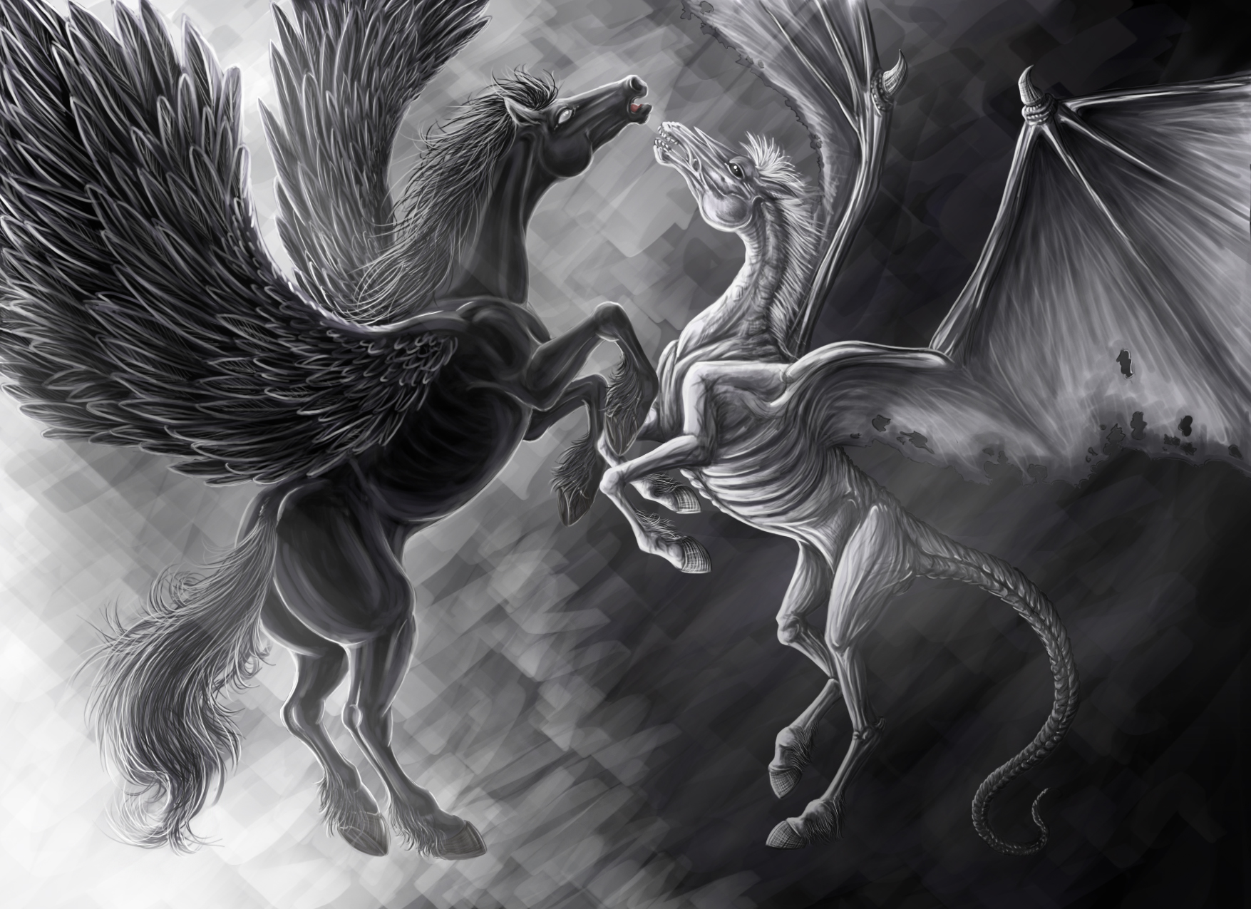 Good_vs_Evil_by_Dk_Raven
